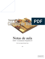 Calculo de Volumes Em Portugues