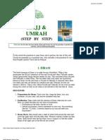 Hajj & Umrah, Step by Step