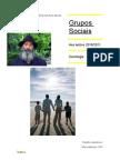 Grupos Sociais - trabalho