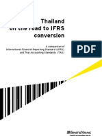 Thai GAAP Comparison GL IFRS