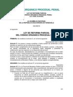 Código Orgánico Procesal Penal