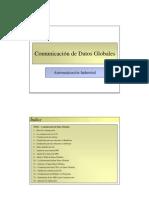 Comunicación de datos globales