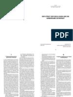 DER STREIT DER IDEOLOGIEN UND DIE GEMEINSAME SICHERHEIT (SPD-Grundwertekommission)