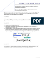 Tutorial Repro Logo Bank Mega