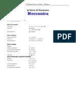 FORMULARIO meccanica
