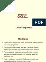Program an Do Em Python - Modulos