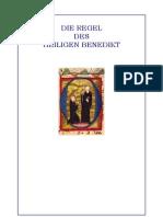 Regula Benedicti - Benediktsregel