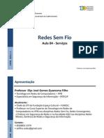 27545-RedesSemFio_Aula04_Serviços