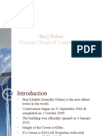 Burj Dubai Concept, Design and Construction Presentation