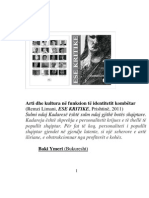 Arti dhe kultura në funksion të identitetit kombëtar (Baki Ymeri)