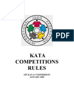 IJF Kata Competition Rules 2009