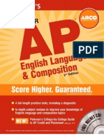 Master AP English Language & Composition Everything You Need to Get AP Credit and a Head Start On
