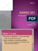 Class 5- Book Questions +Islam's Solutions + Competent Speaker