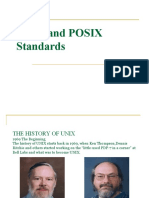 USP Unix and POSIX Standards[1]