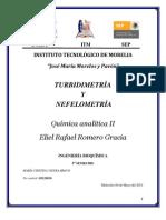 Turbidimetria y Nefelometria