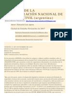 CREACION DE LA ADMINISTRACIÓN NACIONAL DE AVIACÍON CIVIL