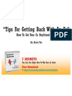 Tips For Getting Back With An Ex – How To Get Your Ex-Boyfriend Back