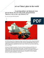A Special Report on China
