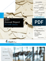 2007 Annual Report TU Delft Library