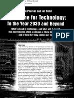 timelinefortechnology2030beyond