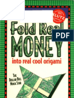 Klutz Guide - Fold Money Into Origami
