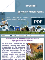 T1. Análisis del Sector Agropecuario de México