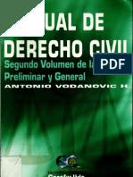 Manual de Derecho Civil Volumen II