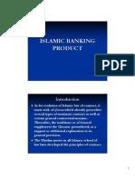 Islamic Banking Product