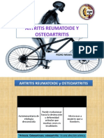 Artritis y osteoartritis.