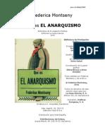 Montseny, Federica - Que Es El Anarquismo
