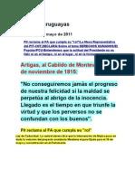 Noticias Uruguayas 7 Mayo 2011