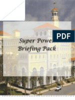 Scientology Super Power Briefing Pack