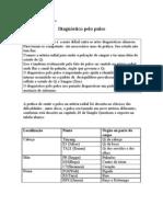 Diagnstico Pelo Pulso- Introdu