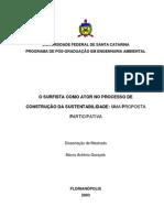 O SURFISTA COMO ATOR NO PROCESSO DE CONSTRUÇÃO DA SUSTENTABILIDADE