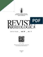 RevistaArheo IV 1 2008