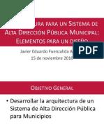 Alta Direccion Municipal