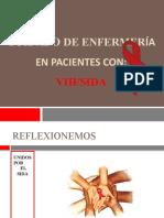 CUIDADO DE ENFERMERÍA EN PACIENTES CON VIH