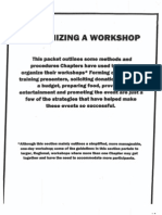Organizing a Workshop