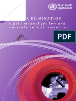 WHO Malaria Elimination - A Field Manual