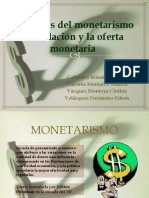 Variables Del Monetarismo