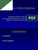 Cosecha y Pos Cosecha Pescado