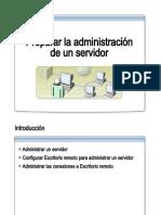 2.- Preparar La Admin is Trac Ion de Un Servidor
