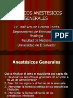 FARMACOS ANESTESICOS GENERALES