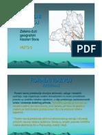 Ruralni Razvoj - Zeleno-zuti Geografski Klasteri Bora