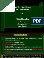 Ch 1 Pharma Cog Nosy Intro