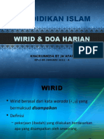 WIRID & DOA HARIAN