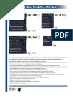 YAMAHA MG C Models Datasheet