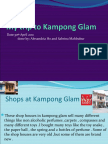 My Trip to Kampong Glam