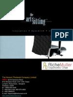 RicheMuller Ergonomic Chair New Brochures 2011