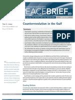 Counterrevolution in the Gulf Toby Jones